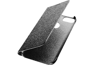 CELLULAR LINE Book Bookcover, Huawei P Smart und Enjoy 7S, Kunstleder, Schwarz