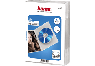 HAMA DVD-Leerhülle Slim  (Transparent)