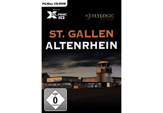 PC/Mac - XPlane 10: St. Gallen Altenrhein /D/F