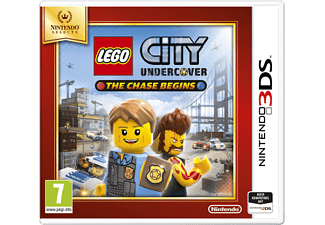 3DS - Lego City: Undercover - The Chase Begins /I