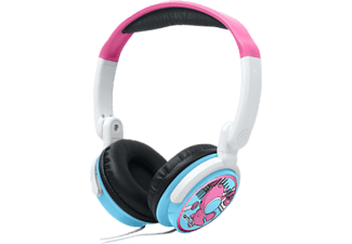 MUSE M-180 KDG - Cuffie per bambini  (On-ear, Blu/Rosa)