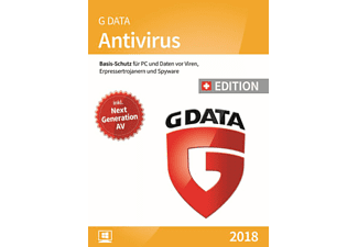 GDATA PC - AntiVirus 2018 Swiss Edition - 3 PCs /Mehrsprachig