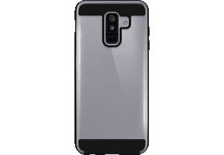 BLACK ROCK Cover Air Protect Handyhülle, Samsung Galaxy A6+ (2018), Schwarz