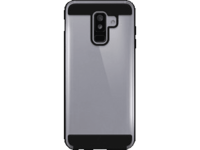 BLACK ROCK Cover Air Protect Backcover Samsung Galaxy A6+ (2018) Kunststoff Schwarz