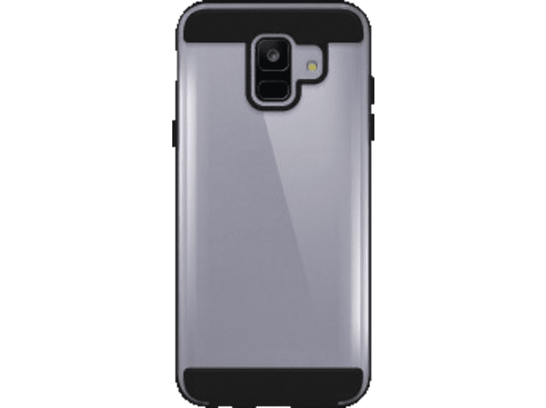 BLACK ROCK Cover Air Protect Backcover Samsung Galaxy A6 (2018) Kunststoff Schwarz