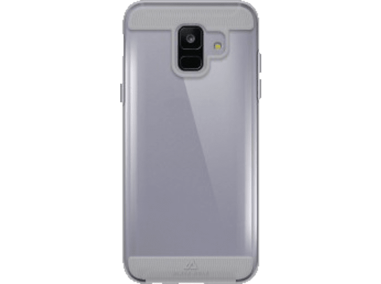 BLACK ROCK Cover Air Protect Backcover Samsung Galaxy A6 (2018) Kunststoff Transparent