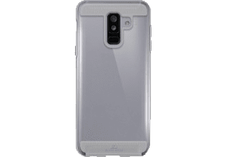BLACK ROCK Cover Air Protect Handyhülle, Transparent, passend für Samsung Galaxy A6+ (2018)