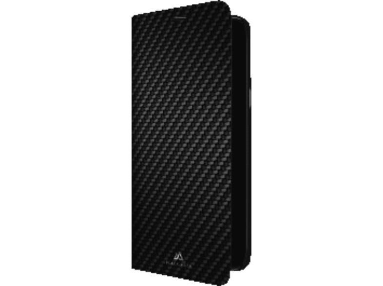 BLACK ROCK Booklet Flex Carbon Bookcover Samsung Galaxy A6 (2018) Polyurethan Schwarz