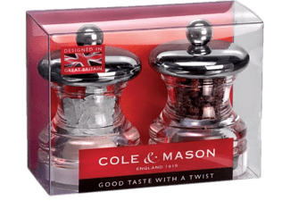 COLE & MASON HP03780 PO3 PEPPER/SALT 65MM GS