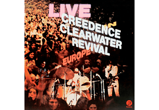 Creedence Clearwater Revival - Live In Europe LP