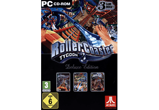 PC - Rollercoaster Tycoon 3 - Deluxe Edition /D