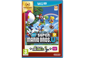 Wii U - New Super Mario Bros. U+New Super Luigi U /D