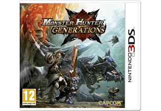 3DS - Monster Hunter: Generations /D