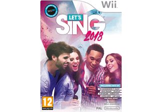 Wii - Lets Sing 2018+1 Mic /Mehrsprachig