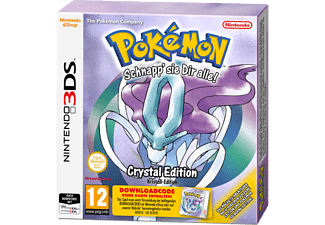 3DS - Pokemon Crystal /D