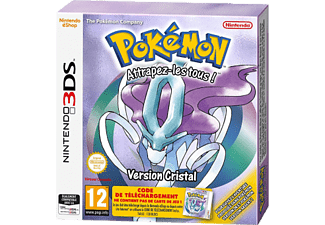 3DS - Pokemon Crystal /F