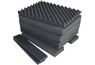 PELI 1607 Air FS 7-PC FOAM Set Nero