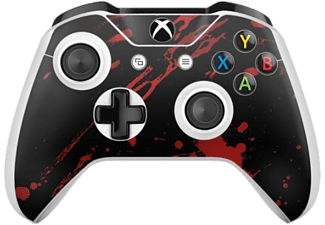 EPIC SKIN Skin Xbox One S Controller Skin 3M - Blood Black - Noir/Rouge - -