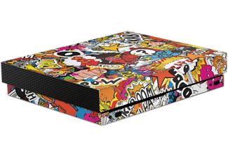 EPIC SKIN Skin Xbox One X 3M - Stickerbomb Color - Multicolore - -