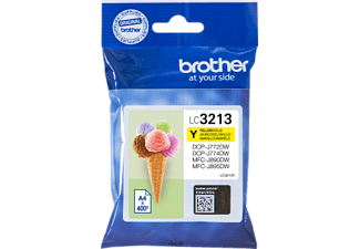 BROTHER LC3213Y Tintenpatrone Gelb