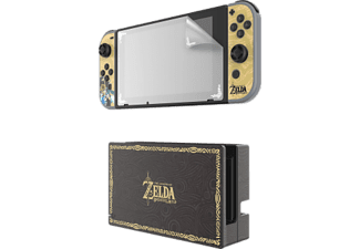 PDP Zelda Play & Protect - Cover - Per Nintendo Switch - Nero/Oro - -