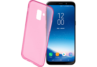 CELLULAR LINE Back Color - Per Samsung Galaxy A8 -2018 - Rosa - -
