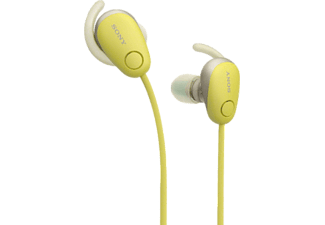 SONY WI-SP600NY - Écouteur Bluetooth (In-ear, Jaune)