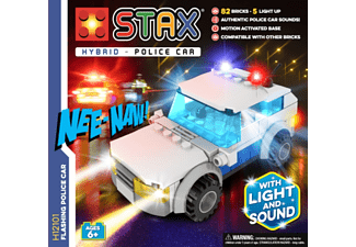 LIGHT STAX STAX® Flashing Police Car - Leuchtende Bausteine (Multicolor)