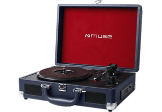 MUSE MT-101 DB Giradischi Blu scuro