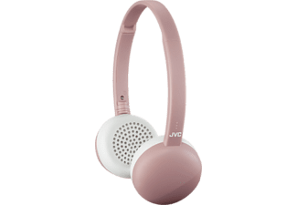 JVC HA-S20BT - Cuffie Bluetooth (On-ear, Rosa)