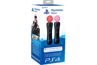 SONY PS4 Move Motion Controller (Twin Pack) , Controller, Schwarz