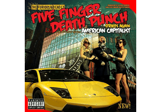 Five Finger Death Punch - American Capitalist (Deluxe) - (CD)