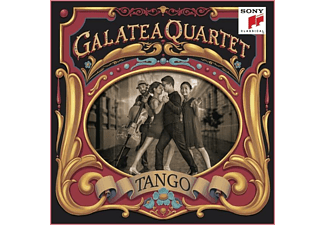Galatea Quartet - Tango-Argentinian Tangos arr.for String Quartet - (CD)