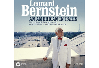 Orchestre National De France - Bernstein-An American in Paris-Rec.with ONF - (CD)