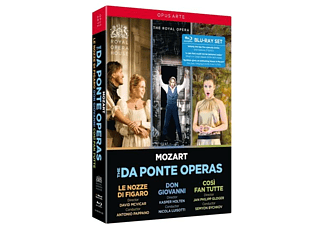 The Royal Opera House Nicola Luisot - Mozart: Da Ponte Opern - (Blu-ray)