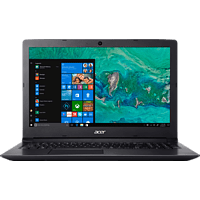 ACER Aspire 3 (A315-53-35FQ), Notebook, Core™ i3 Prozessor, 4 GB RAM, 1 TB HDD, Intel® HD-Grafik 620, Schwarz