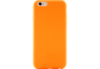 PURO Puro Silicon Cover Handyhülle, Orange, passend für Apple iPhone 6/ iPhone 6s/ iPhone 7/ iPhone 8