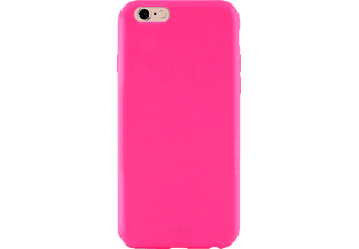 PURO Puro Silicon Cover Handyhülle, Pink, passend für Apple iPhone 6/ iPhone 6s/ iPhone 7/ iPhone 8