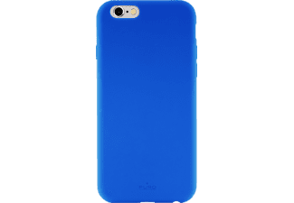 PURO Puro Silicon Cover Handyhülle, Apple iPhone 6/ iPhone 6s/ iPhone 7/ iPhone 8, Blau