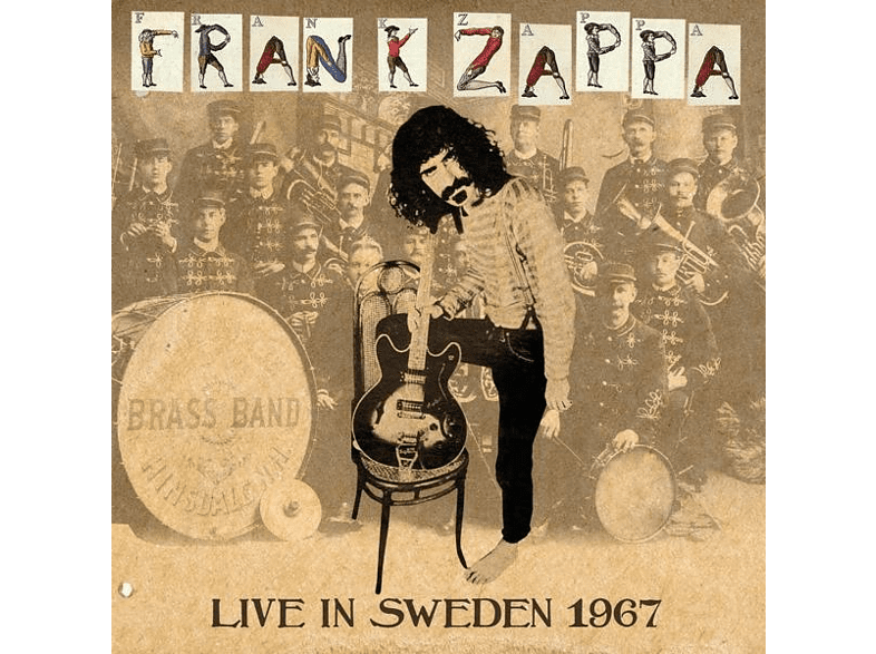 Frank Zappa - Live In Sweden 1967 [CD]