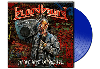Bloodbound - In The Name Of Metal (Gtf.Blue Vinyl) - (Vinyl)
