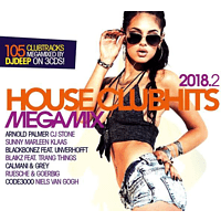 VARIOUS - House Clubhits Megamix 2018.2 [CD]