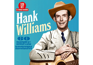 Hank Williams - 60 Essential Recordings - (CD)