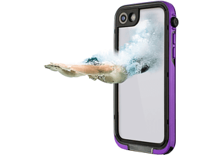 HAMA Outdoor-Box Aqua Handyhülle, Lila, passend für Apple iPhone 7 / iPhone 8