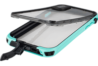 HAMA Outdoor-Box Aqua Flip Cover Apple iPhone X Kunststoff/Polycarbonat/Silikon/Thermoplastisches Polyurethan Türkis