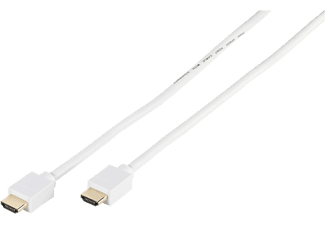 VIVANCO High Speed HDMI-kabel 4K 5m (47167) - Vit
