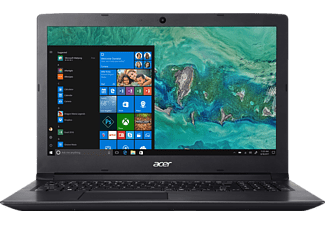 ACER Aspire 3 (A315-33-C2KG), Notebook mit 15.6 Zoll Display, Celeron® Prozessor, 4 GB RAM, 500 GB HDD, Intel® HD Graphics, Schwarz