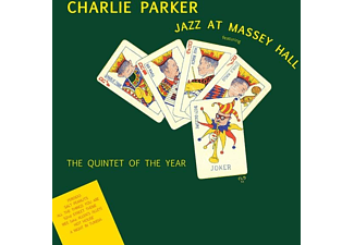 Charlie Parker - Jazz At Massey Hall (Ltd.180g Farbiges Vinyl) - (Vinyl)