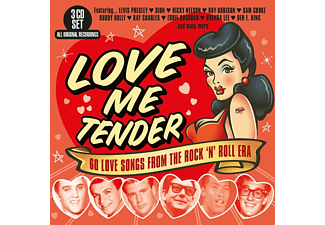 VARIOUS - Love Me Tender - (CD)