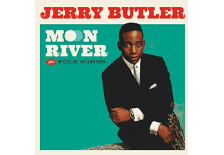 Jerry Butler - Moon River+Folk Songs+4 Bonus Tracks - (CD)
